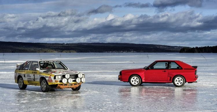 Sport quattro Rallye, Audi Sport quattro