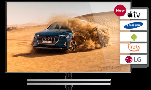 Audi MediaTV on Apple TV, Smart TV, Tablet and Smartphone