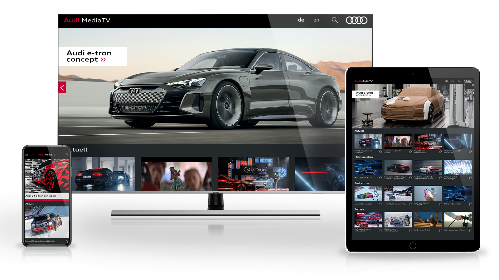 9b0f2980a6 The latest Audi-Videos in 4k