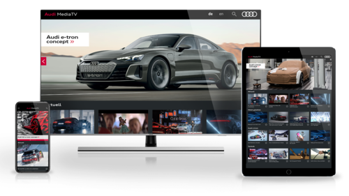 Audi MediaTV on Apple TV, Smart TV, Tablet and Smartphone