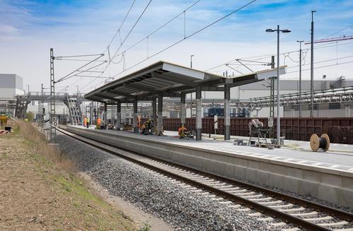 "Bahnhalt ""Ingolstadt Audi"":"