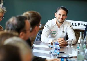 Daniel Abt promotes European races