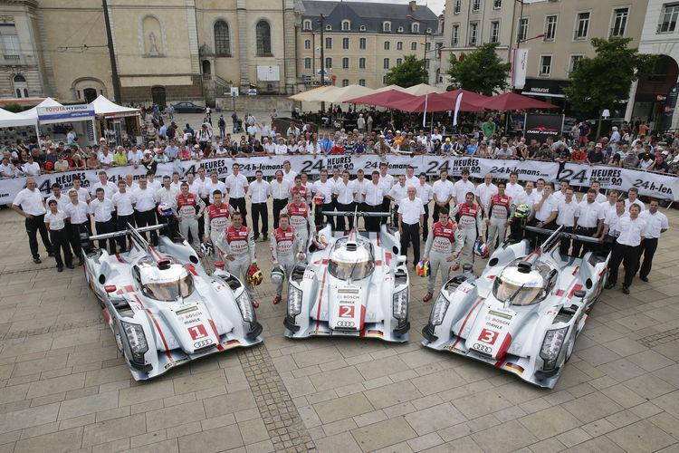 Bereit für die 24 Stunden von Le Mans