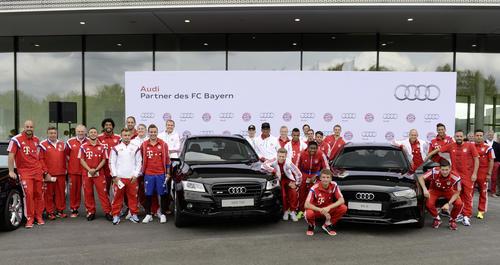 Deutscher Rekordmeister übernahm neue Audi-Flotte