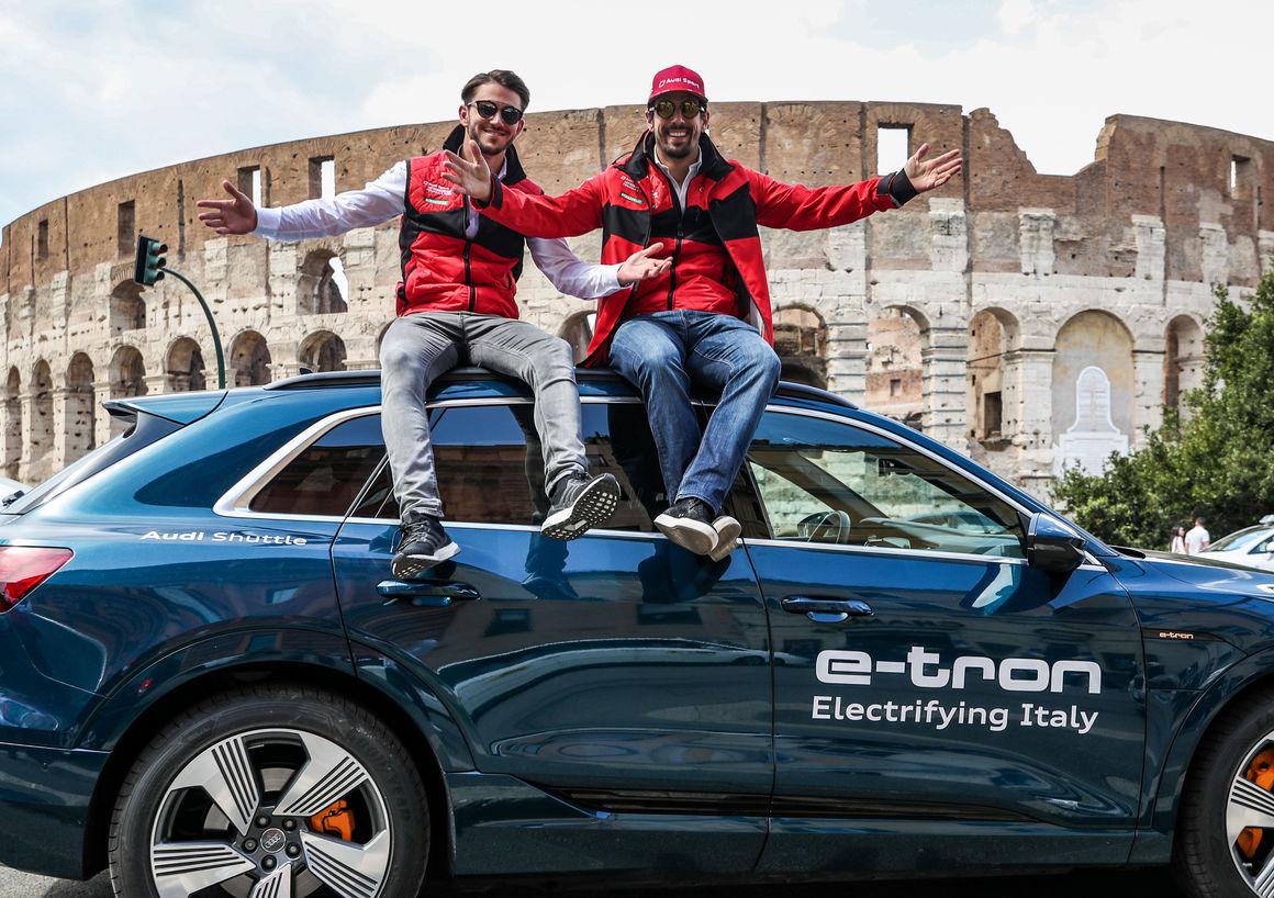 Formula E Rome E Prix 2019 Audi Mediacenter