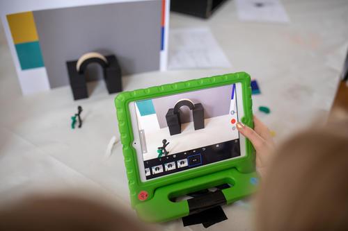 Digitale Kunstwerkstatt im Museum für Konkrete Kunst in Ingolstadt