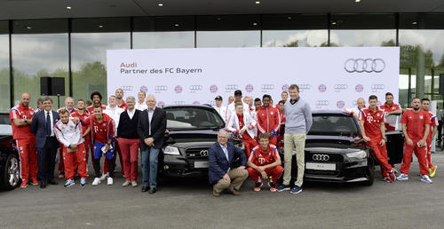 German record champion received new Audi fleet