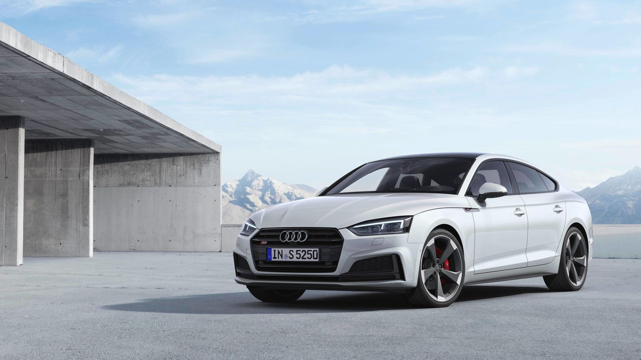 The Audi S5 models now with a TDI engine