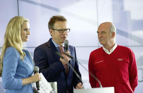 Audi eröffnet Hightech-Areal in Neuburg an der Donau