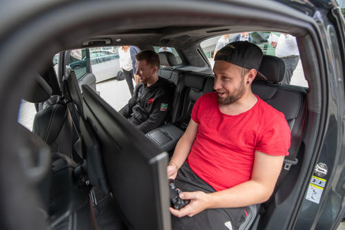 Pro gamer Danny 'Proownez' receives new company car at Audi Forum