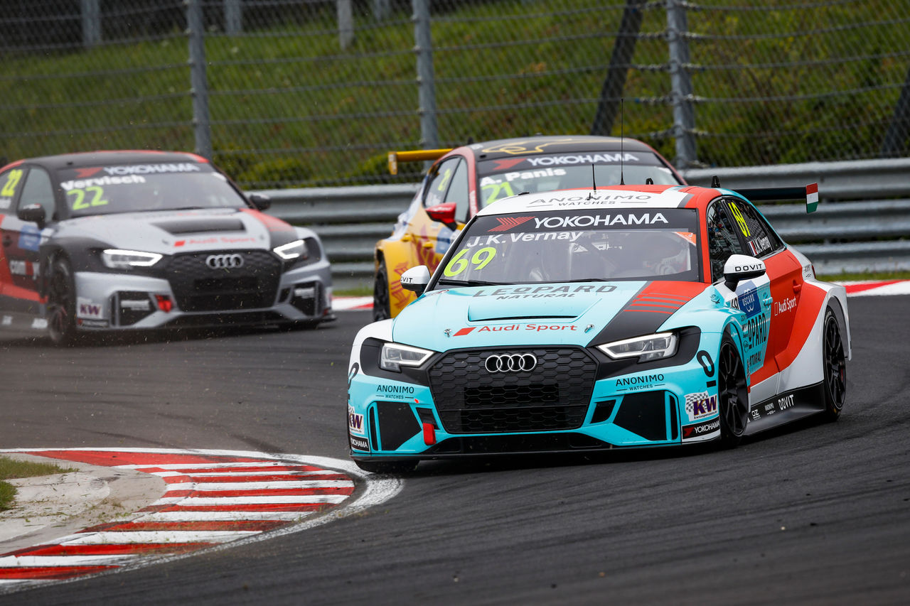 Third podium result for Audi Sport in 2019 FIA WTCR