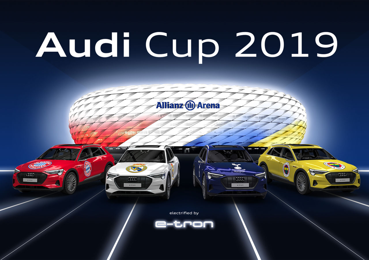 Top international clubs play for the Audi Cup