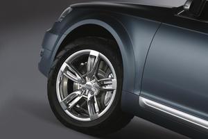 Audi allroad quattro concept - Detail