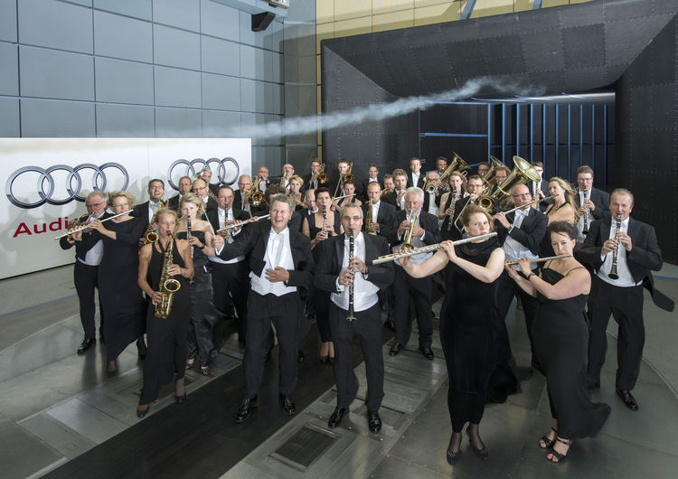 Mit der Audi Bläserphilharmonie zu den Britischen Inseln