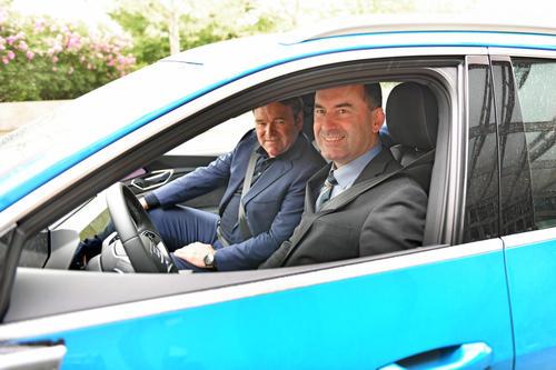 Probefahrt im neuen Audi e-tron