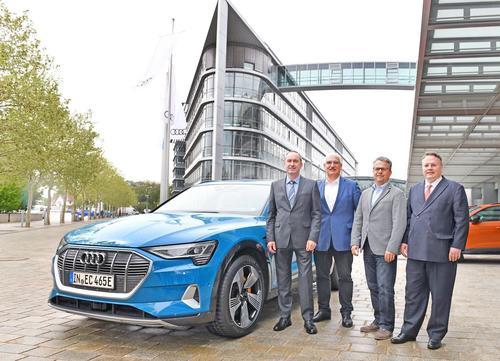 Information zum neuen Audi e-tron