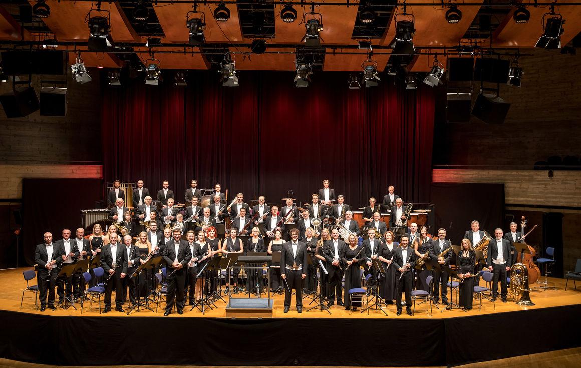 Konzert der Audi Bläserphilharmonie auf der  BUGA 2019 in Heilbronn