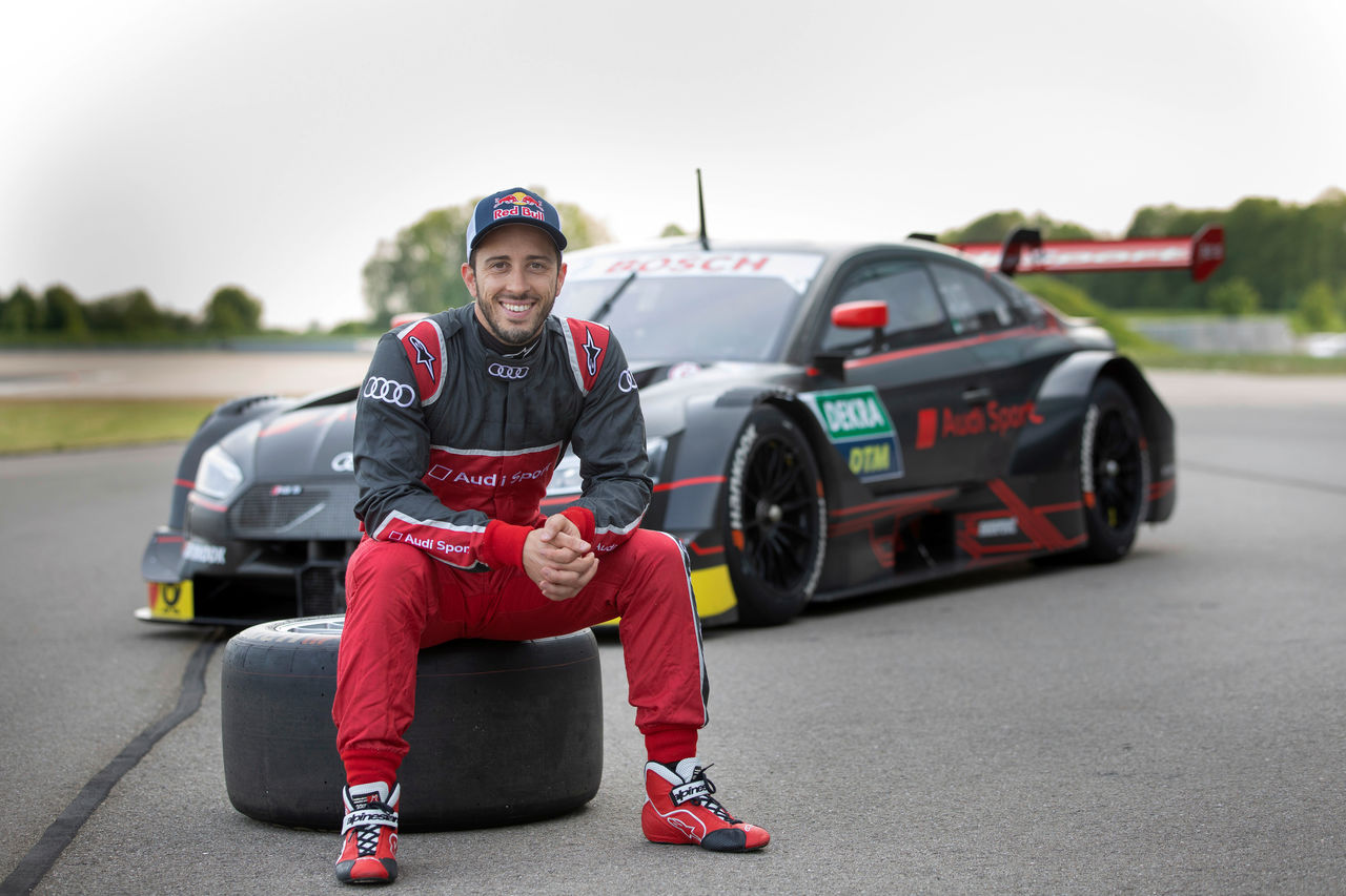 MotoGP star Dovizioso to race for Audi in the DTM