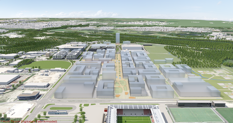 For the Mobility of Tomorrow - IN-Campus Technology Park for Audi and the Ingolstadt Region