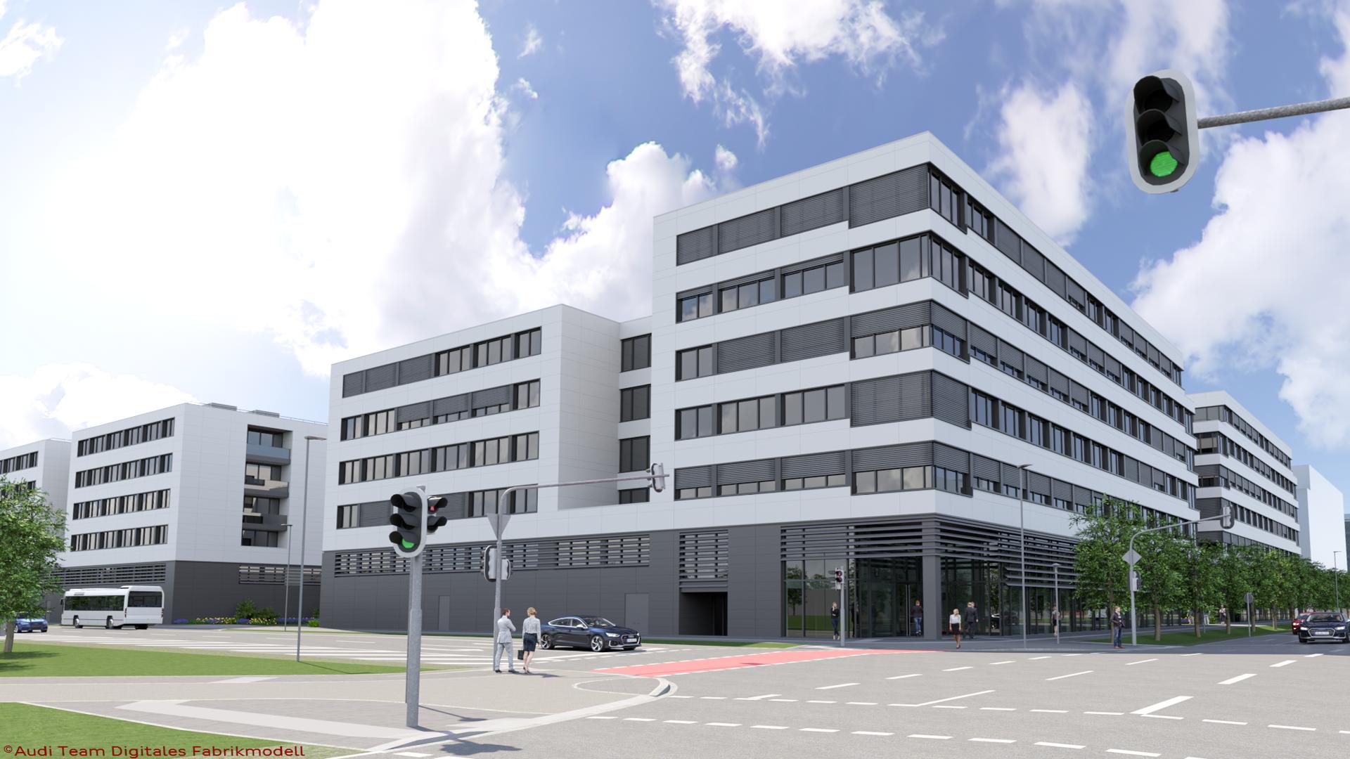 Für die Mobilität von morgen - Technologiepark IN-Campus für Audi und die Region Ingolstadt