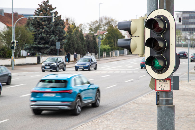 Audi vernetzt sich mit Ampeln in Deutschland