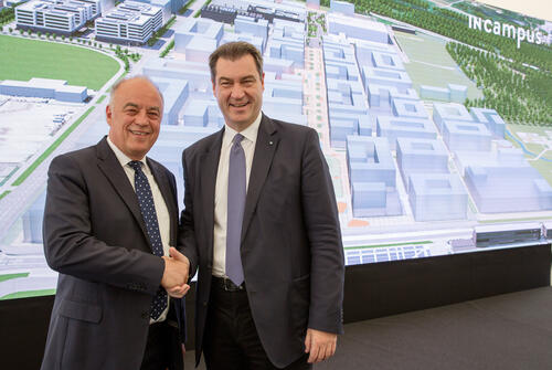 For the mobility of tomorrow: Foundation stone ceremony for the technology park IN-Campus for Audi and the region of Ingolstadt