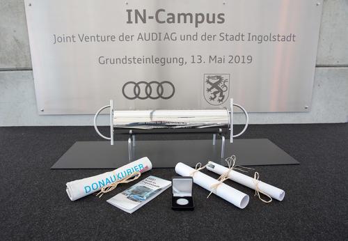 Für die Mobilität von morgen: Grundsteinlegung Technologiepark IN-Campus für Audi und die Region Ingolstadt