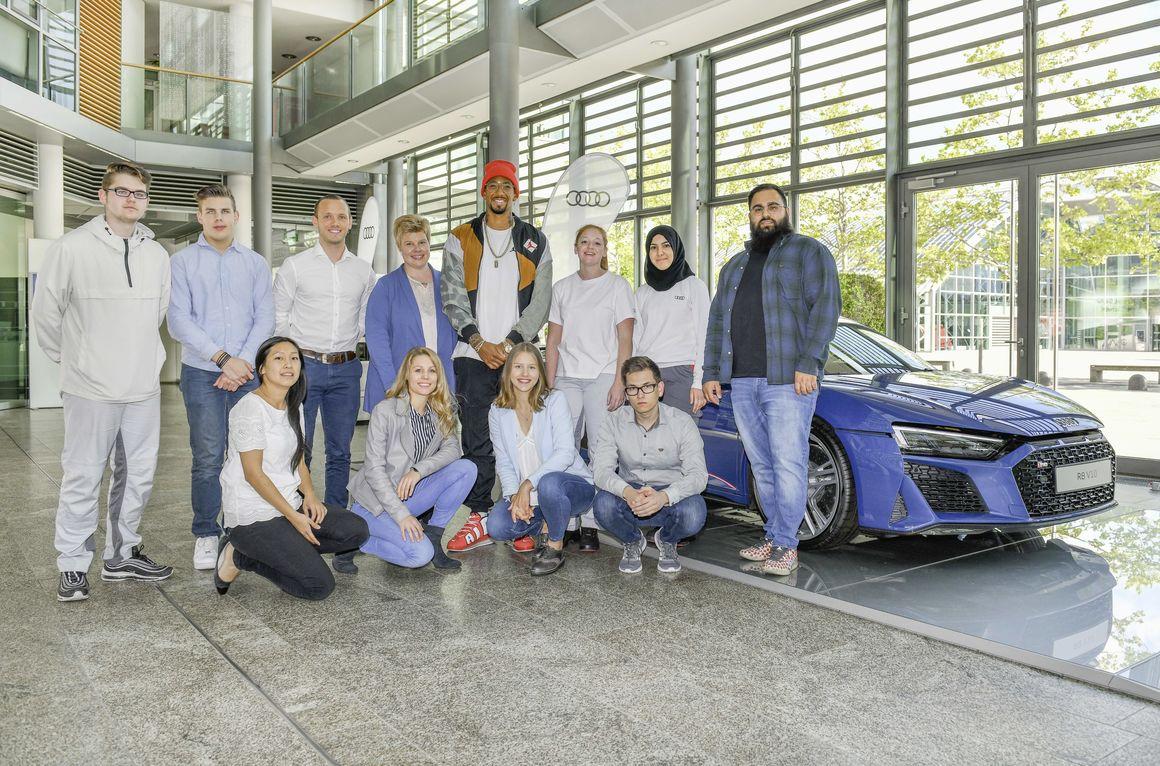 Jérôme Boateng at Audi: ambassador for tolerance