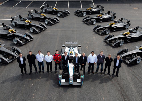 The first days of Formula E