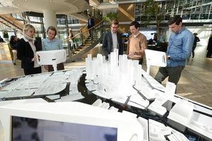 Audi Forum Ingolstadt: Interaktives Exponat zeigt Mobilität in der Stadt der Zukunft