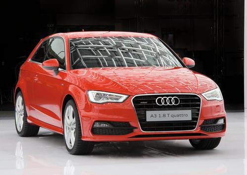 Audi auf der CeBIT 2012