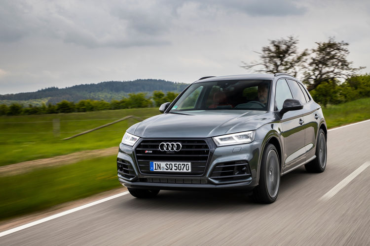 The new Audi SQ5 TDI: Instant performance thanks to electric