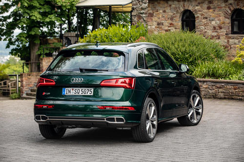 The new Audi SQ5 TDI: Instant performance thanks to electric powered