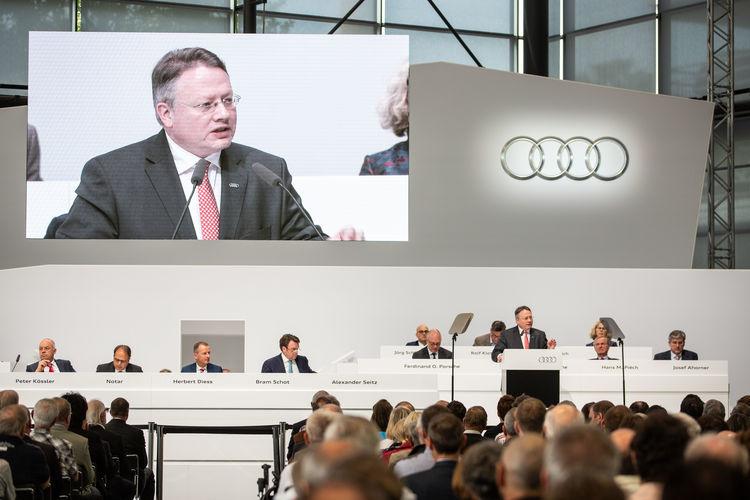 Die 130. Ordentliche Hauptversammlung der AUDI AG am 23. Mai 2019 in Neckarsulm