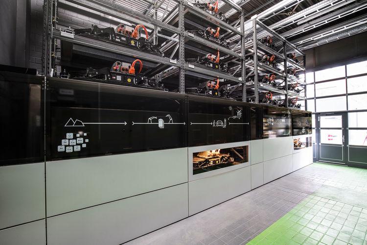 Audi eröffnet Batteriespeicher auf dem EUREF-Campus in Berlin