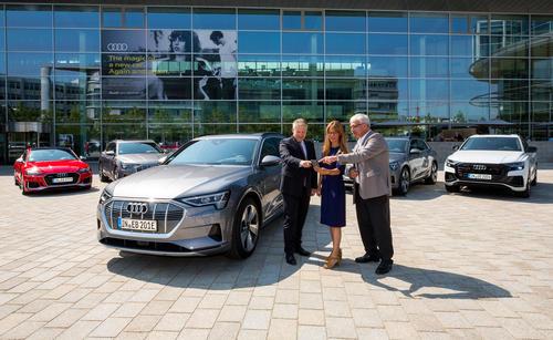 Mobilitätsangebot wächst: Audi on demand startet am Standort Ingolstadt