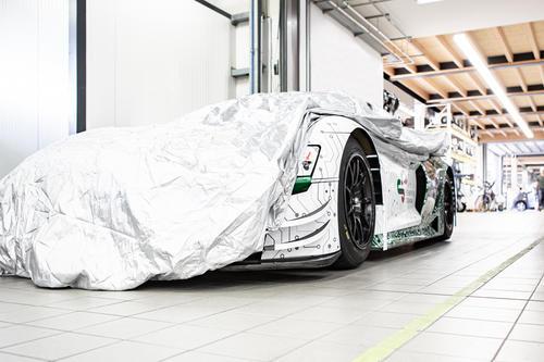 Schaeffler Paravan race car