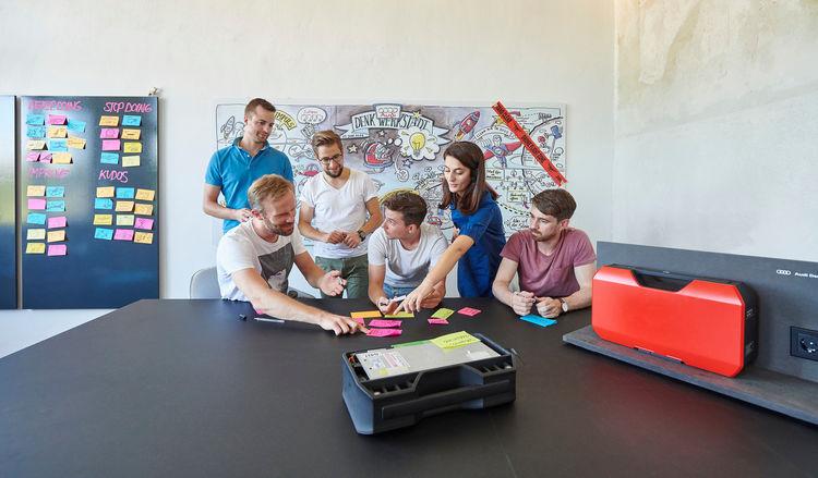 """Audi Denkwerkstatt: Klassensieg bei der Studie """"Konzerne auf den Spuren von Startups 2019"""" von Capital und Infront"""