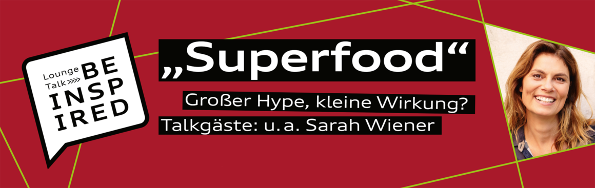 "Talk über ""Superfood"" im Audi Forum Neckarsulm"