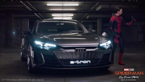 "Audi and Sony Pictures Entertainment Team Up On ""Spider-Man™: Far From Home"" Digital Content"