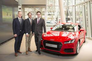 Deutschland-Premiere des Audi TT in der Audi City Berlin