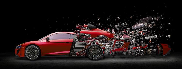 Audi R8 Coupé by Fabian Oefner