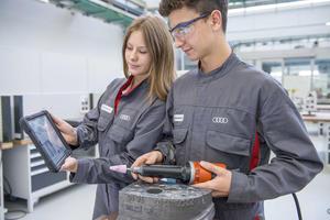 Apprenticeship at AUDI AG in Ingolstadt and Neckarsulm