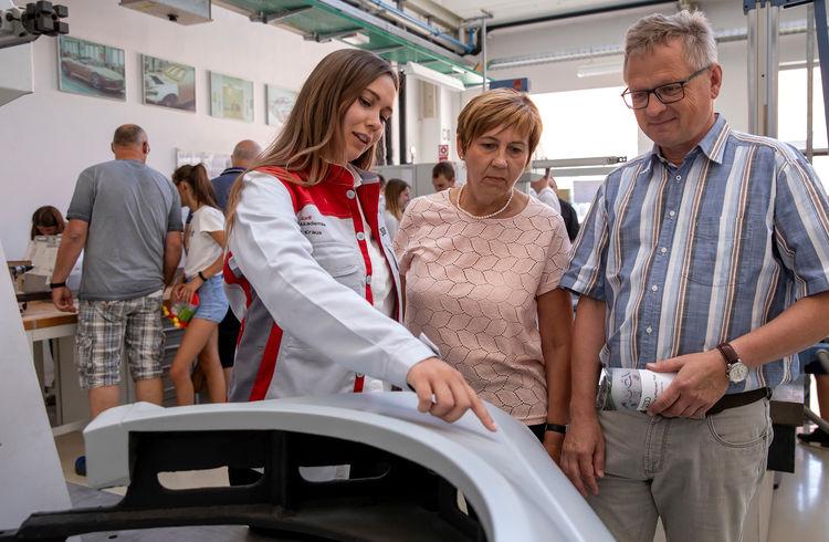 Open day at the Audi Training Center: 70 years of training at the Ingolstadt location