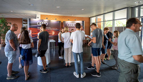 Tag der offenen Tür im Audi Bildungszentrum: 70 Jahre Ausbildung am Standort Ingolstadt