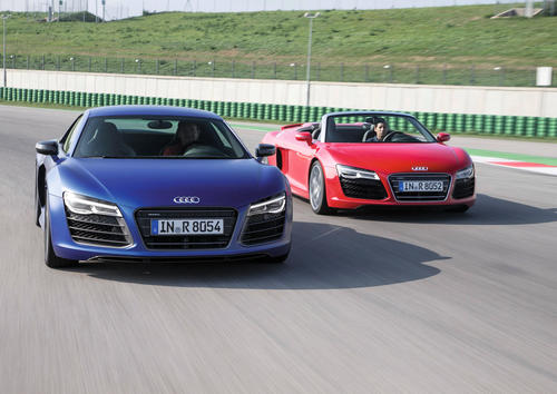 Audi R8 V10 Spyder / Audi R8 V10 plus