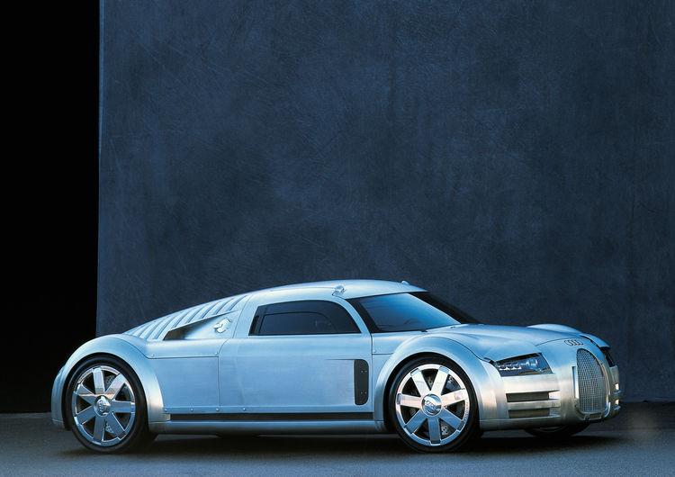 Audi Design Study at the Autostadt Wolfsburg (Press Information)