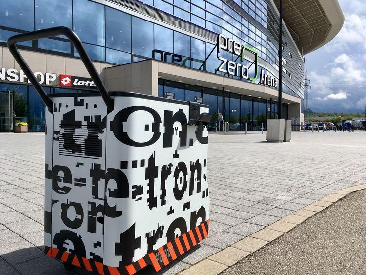 Audi Neckarsulm logistics specialists testing business model for mobile charging station