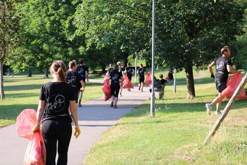 Laufen für den Umweltschutz