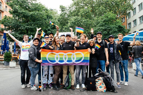 Munich's Christopher Street Day: Audi joins the celebration for the first time